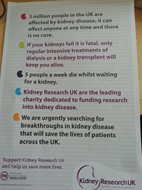 Werner Coetzee is fundraising for Kidney Research UK