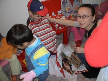 2007 - Xmas in a Romanian orphanage