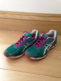These are the trainers that will get me round the 26.2 miles