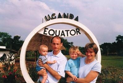 At the Equator, Uganda 2001