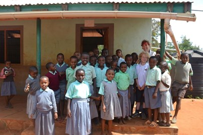 Spending time at Kiteghe Primary