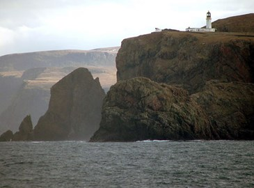 Cape Wrath - the north west tip of Great Britain