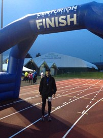 Finish Line Eastbourne! Done!