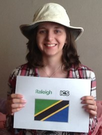 Jessica Crees, ICS and Raleigh Volunteer