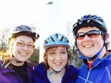 Team cycle ride
