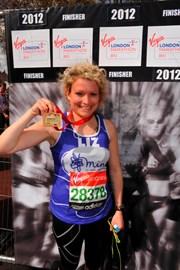 London marathon finisher!