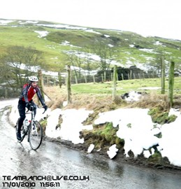 Some cold winter training!!