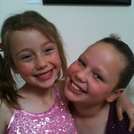 Two girls who want a cure for type 1 diabetes in their lifetimes.