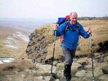 Jeff on Pen-y-Ghent