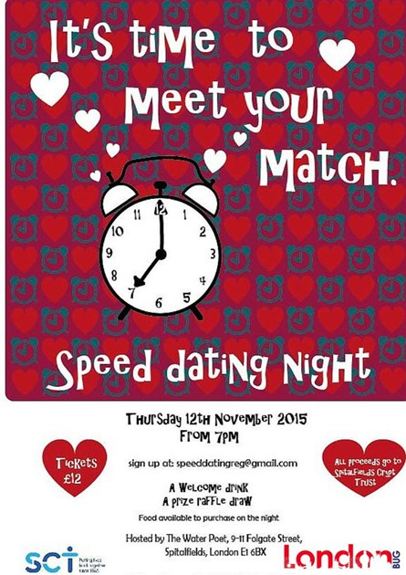 Charity speed dating event london-in-Graniti
