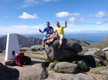 Top of the World - well Goatfell :)