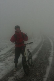 Winter MTB training!