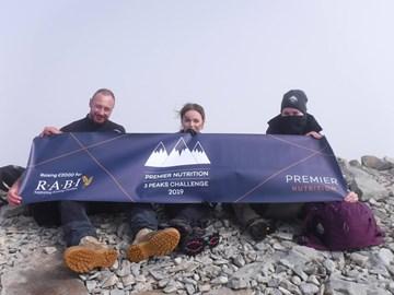 Scafell Pike Summit - Training