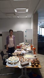 The cake sale at Stockley Park was a big success!