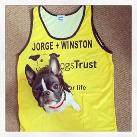 Running vest is ready