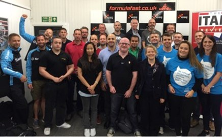 Thanks to all who attended our charity Go-Karting Event!