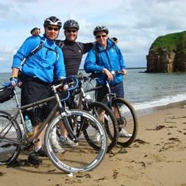 Steven Clark, me and Kev Graham