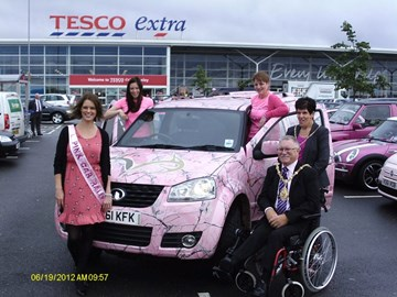 Wonderful reception at Crewe 2012