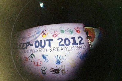 Last year's sleepout