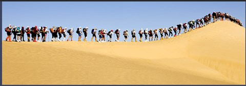 Walkers on the Dunes