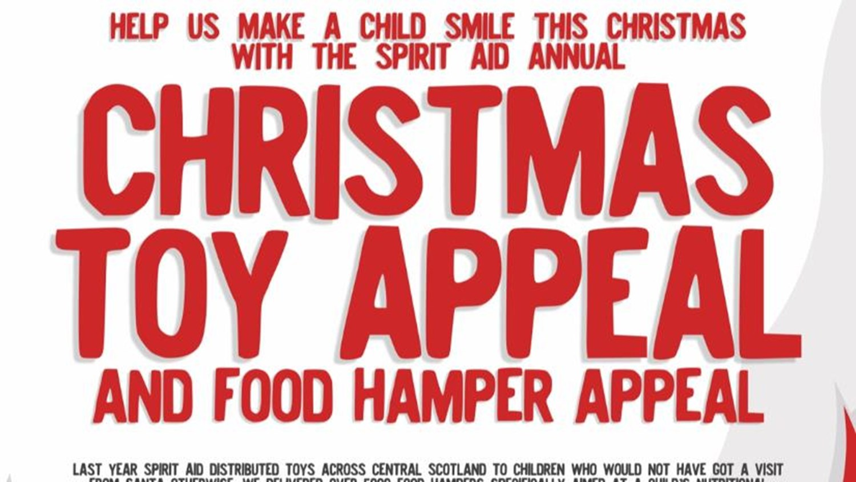 Spirit Aid Christmas Toy Food Hamper Appeal 2017 Justgiving