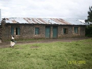 Derelict Classrooms at Rukongi