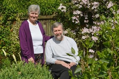 Elaine and husband Gerry
