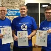 Fundraising fun - 3 marathons in 3 months