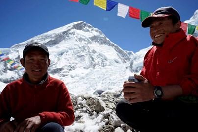 Tenzing and Kumar