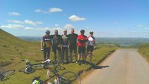 The Big Ride Team having conquored Gospel Pass 07 June 15