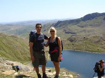 Training up Mount Snowdon