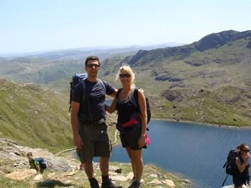 Training up Mount Snowdon