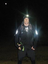 Dan doing some night running!
