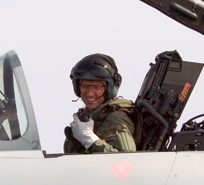 Typhoon Test Pilot -another day in the office!