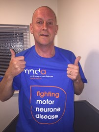 Dean Forth Is Fundraising For Motor Neurone Disease