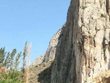 Climbing in Greece