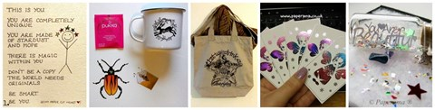 1) - Prize bundle from My paper cut heart and Paperama