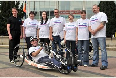 The Team at Crawley fund raising day