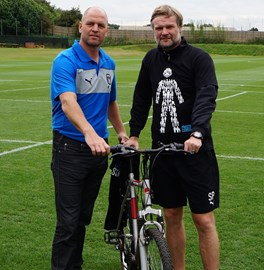 David Busst and Steven Pressley