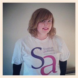 Me in my awesome fundraiser shirt :)