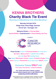 Charity Black Tie Dinner - 2 April Swindon
