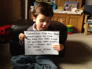 A thank you message from Ryan