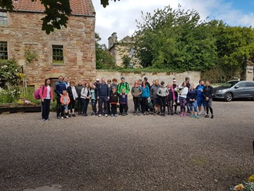 The start of Kirsty's Walk 2018