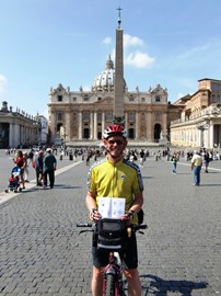 Arrival at the Vatican