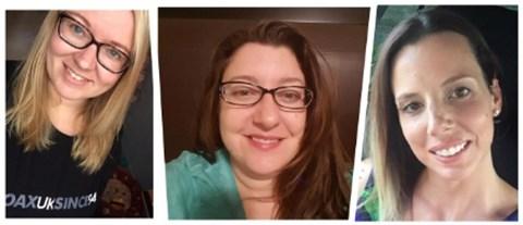 Corine, Brandy, and Marie
