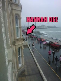 not the brightest of days in aberystwyth