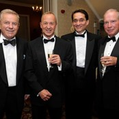 Roger Harris at the Lord lieutenants Charity dinner