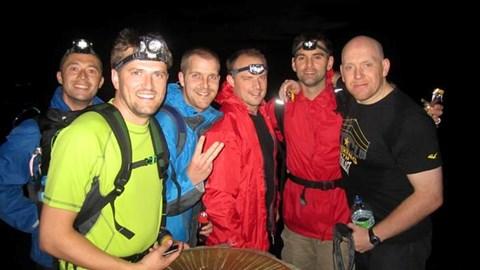 Snowdon's summit for sunrise!