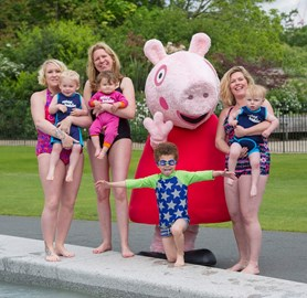 Peppa Pig and friends making a splash for Tommy's, the baby charity!
