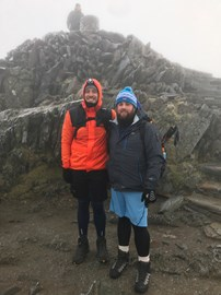Training is underway - Mount Snowdon, completed it!